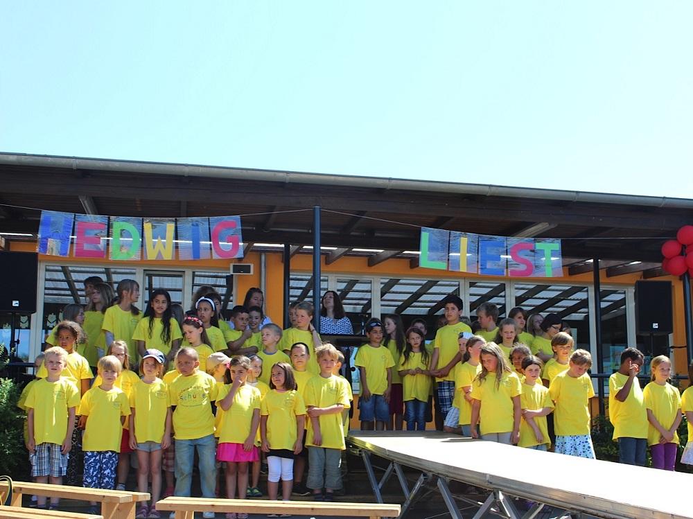 Unser Schulfest mit Namensgebung am 10.07.2015