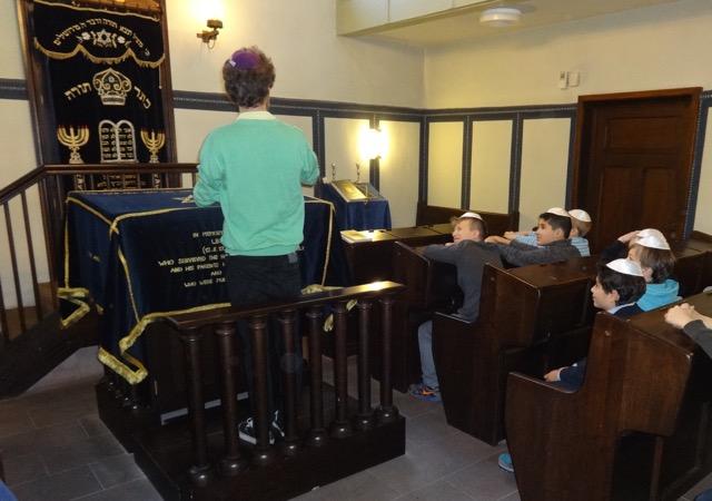 Synagogenbesuch Bild 1
